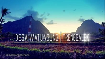 Potensi Desa Watuagung Kecamatan Watulimo bersama Bappeda Prop Jatim