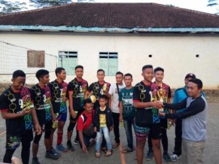 Desa Watuagung Sabet Juara 1 Bola Voli Putra & Sepak Bola Jago Kapuk di PHBN Watulimo